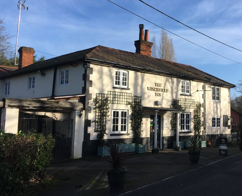 The Winchfield Inn hotel in Winchfield, Hook